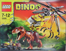 Lego Dino 5886 T-Rex Transport-Helikopter Hubschrauber Dinosaurier SEALED
