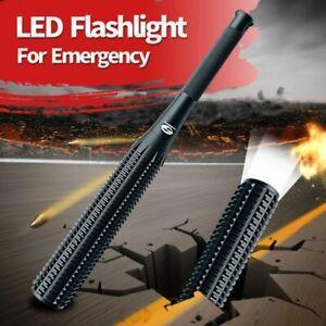 Flashlight-Led-Shape-Keychain-Camping-Baseball-Bat-Outdoor-Self-Defense-Tactical