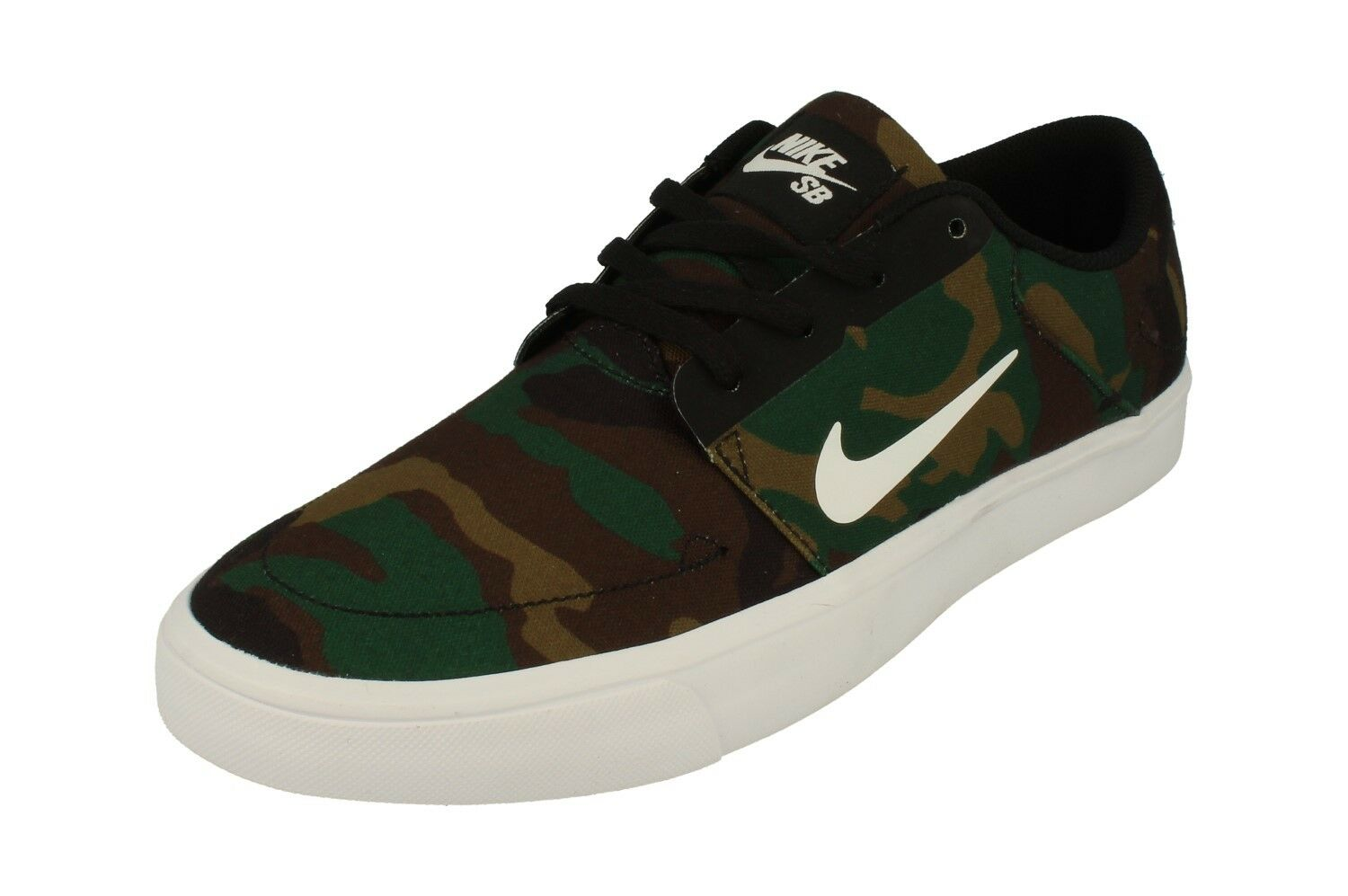 Nike Sb Portmore Canvas Mens Trainers 723874 Sneakers Shoes 011