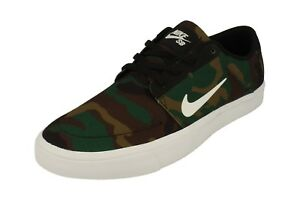 Details about Nike Sb Portmore Canvas Mens Trainers 723874 Sneakers Shoes 011