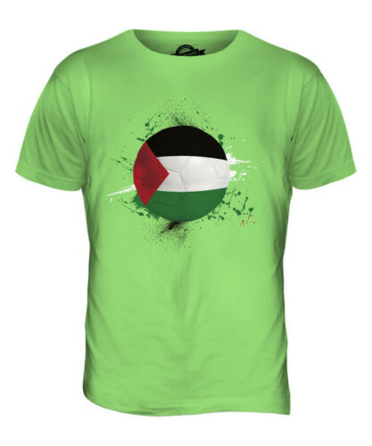 PALESTINE FOOTBALL MENS T-SHIRT TEE TOP GIFTWORLD CUP SPORT