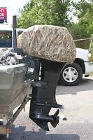 Avery Greenhead Gear Outboard Motor Cover Boat Blind Killer Weed Camo Large L