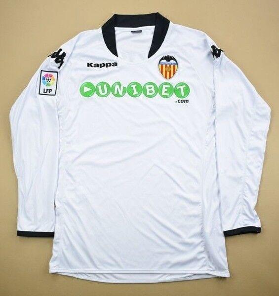Kappa 2009-10 VALENCIA LONGSLEEVE SHIRT L Shirt Jersey Kit