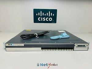 Cisco-WS-C3750X-12S-S-12-Port-IP-Base-Switch-1-YR-WARRANTY-SAMEDAYSHIPPING