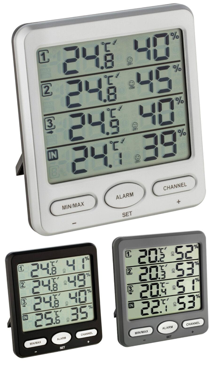 Climatizador Tfa 30.3054 Klima-Monitor Radio Termo-Higrómetro Min. Máximo