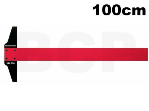 Rumold 344100 Zeichenschiene 100cm ohneTeilung