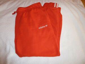Adidas-Damen-Trainingshose-Gr-XL-Rot