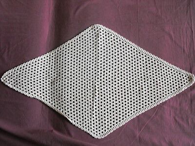 #1215 Beautiful Vintage Hand Made Table Runner 94cm/54cm/(37''x21'') And To Have A Long Life.