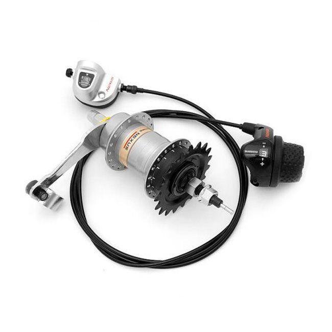 Internal gear hub Nexus Inter 3 coasterbrake 3 speed 20T SHIMANO bike speed