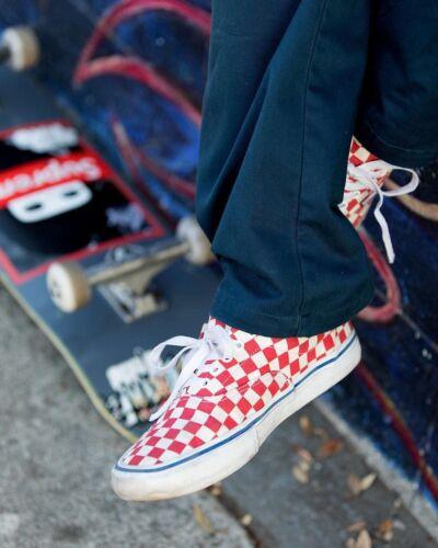 da taglia uomo Scarpe Scacchiera 11 Pro rococ Era Skate Vans nYpX0q6