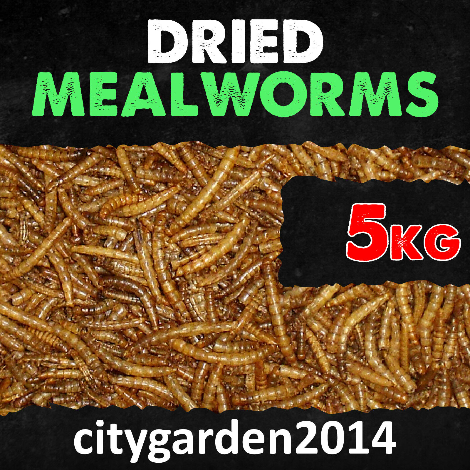 5kg Wild Bird Dried Mealworms Premium Quality Next Day Delivery
