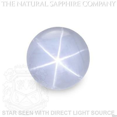 Natural Untreated Grayish Blue Star Sapphire, 7.40ct. (S2204)