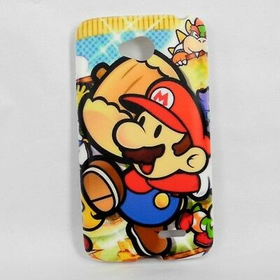 For LG L70 D320 Mario TPU Phone Case + Spro Screen Protector