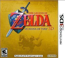 The Legend of Zelda: Ocarina of Time 3D (3DS, 2011) for sale online | eBay