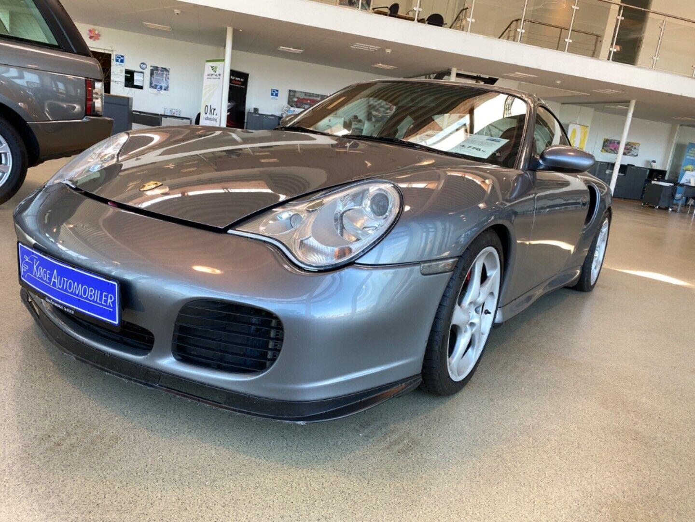 Porsche 911 Turbo 3,6 Coupé Tiptr. 2d