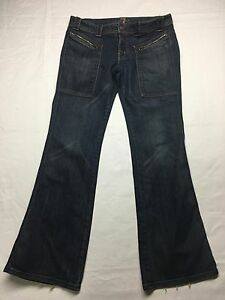 Stretch Bootcut Donna For 7 30 All Mankind Jeans Taglia qSTTa4w