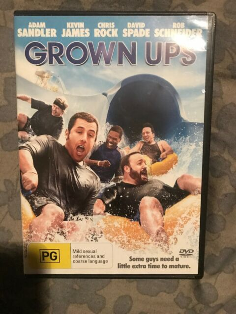 Grown Ups, DVD REGION 4