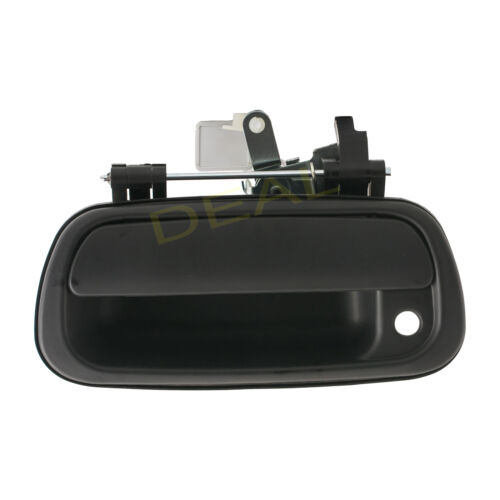 Smooth Blk Rear Truck Bed Tailgate Handle With Key Hole Fit 00-06 Toyota Tundra