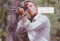 EDWARD FOX In Person Signed 12x8 Photo Display THE DAY OF THE JACKAL COA
