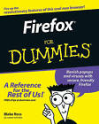 Firefox For Dummies by Blake Ross (Paperback, 2006)