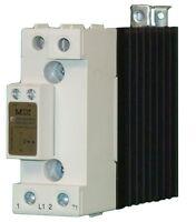 Solid State Relay Contactor 40 A @ 42-600 VAC, Control 20-275 VAC / 24-190 VDC