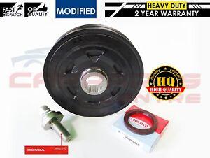 For honda accord cr v 22 cdti n22 new crankshaft pulley crank oil image is loading for honda accord cr v 2 2 cdti solutioingenieria Gallery