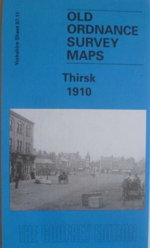 Old Ordnance Survey Maps Thirsk Yorkshire 1910  Sheet Godfrey Edition New