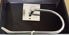 Chrome Mirrored Antique Style Toilet Roll Tissue paper Dispenser Holder