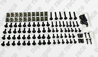 Black Motorcycle Fairing Bolts Kit Fastener Clip For Suzuki Gsxr1100 1988-1991
