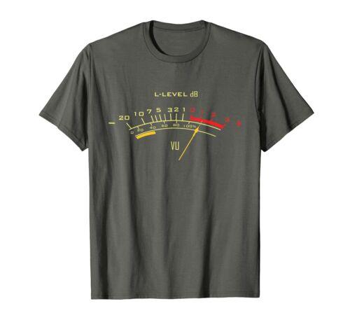 VU Meter Sound Engineer Analog T Shirt Funny Vintage Gift For Men Women