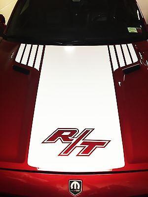 Dodge Challenger 2008, 2009, 2010, 2011, 2012,2013, 2014  Custom Hood Decal -