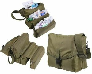 ELITE FIRST AID Corpsman M3 Medic Bag STOCKED Trauma Kit Military Survival ODG