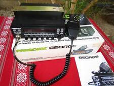CB PRESIDENT GEORGE   AM FM SSB 240 canaux  21 watts