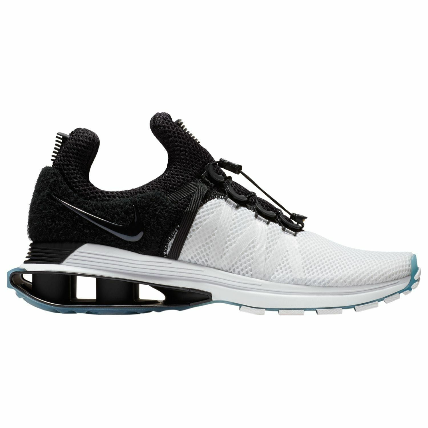 Nike Shox Gravity White Black White Mens Sz 11 AR1999-101