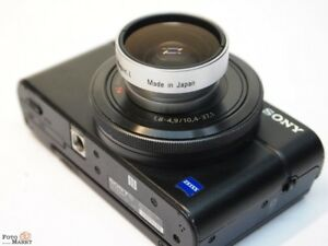 Weitwinkelobjektiv-Magnethalterung-0-5x-HTMC-Hama-044327-27mm-Weitwinkel-Vorsatz