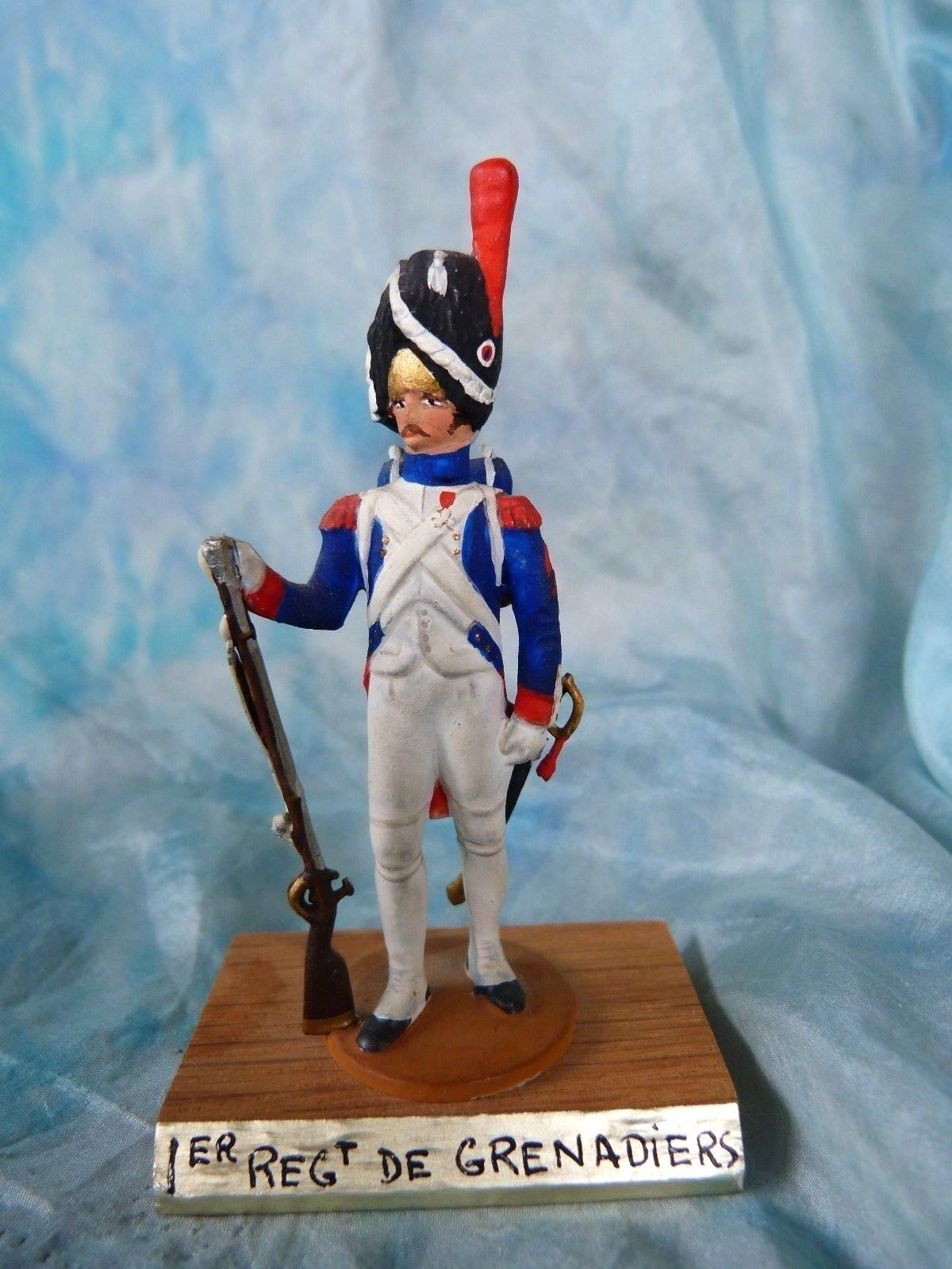 Soldat de plomb Guy Renaud 1er empire - 1er régiment de grenadier - Toy soldier