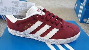 Adidas gazelle Trainer's Burgundy Red