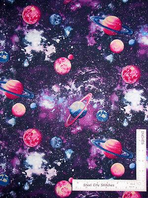 purple galaxy headliner