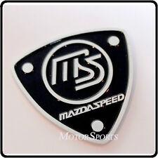 Mazdaspeed Aluminium Badge Emblem Mazda metal Sticker Decal Boot Tailgate Car 74