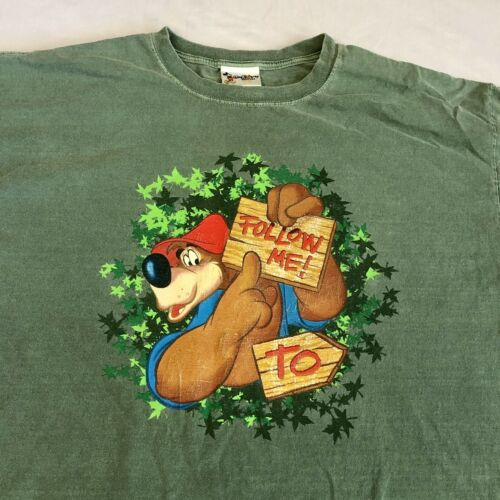 Vintage Splash Mountain Brer Bear Double Sided Wal