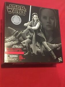 Star Wars The Black Series Rey Jedi Training  Action Figure Toys R Us Ex NEW MIB