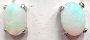 Natural-Solid-Crystal-Opal-Earring-With-925-Solid-Silver-FREE-JEWELLERY-BOX