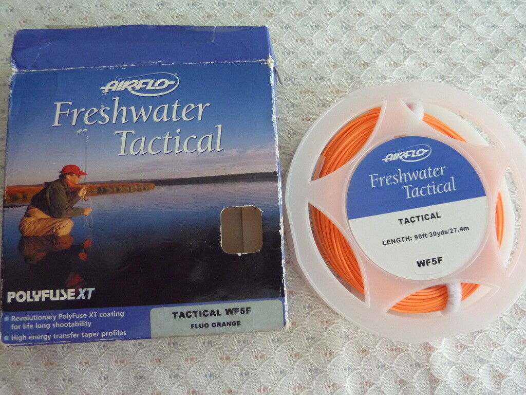 NEW AIR FLO Freshwater Tactical  WF 5  F  fly line  order now with big discount & free delivery