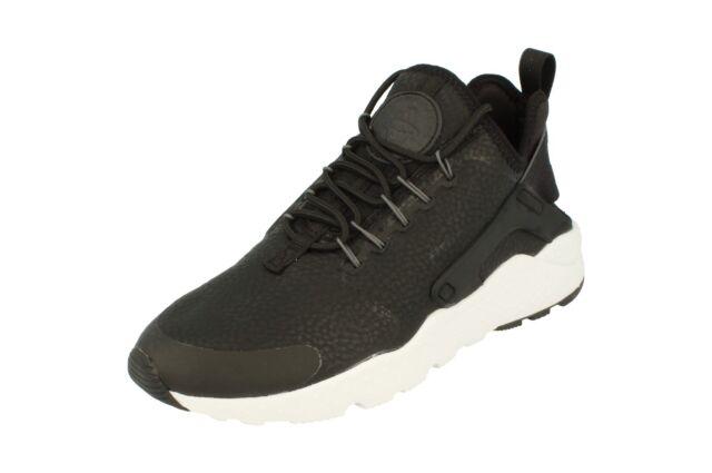 Nike Womens Huarache Run Ultra PRM Running Trainers 859511 Sneakers Shoes  001 3bf6e41e115d
