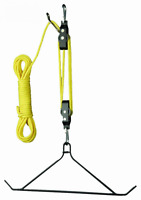 Hunters Specialties Mag Lift System With Gambrel Deer Game Hoist Hanger