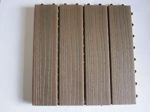 klick terrassenfliesen bpc terrassendielen 1 wahl ipe bambus holz wpc ebay. Black Bedroom Furniture Sets. Home Design Ideas