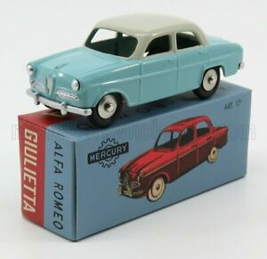 EDICOLA 1/48 ALFA ROMEO | GIULIETTA 1954 | LIGHT BLUE WHITE