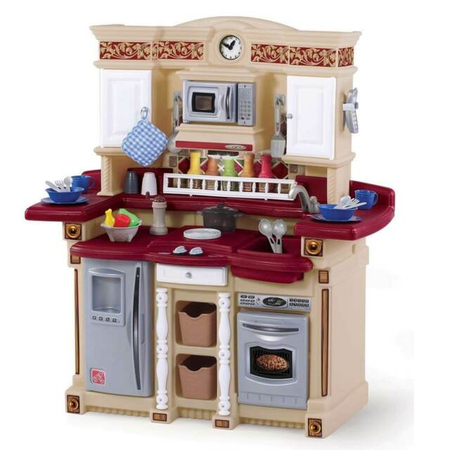 Step2 Welcome Home Lifestyle Kitchen Pretend Play Step 2 For Sale Online Ebay
