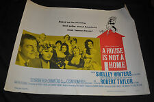A House is not a Home 22x28 Half 1/2 sheet movie poster - (1964) ITB WH