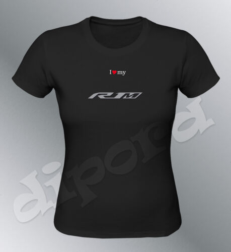 Tee shirt personnalise YZF R1M 2015 S M L XL femme moto R1 crossplane race piste